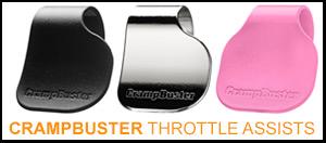 Crampbuster Throttle Assists