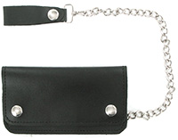 6 inch leather wallet
